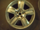 Jeep Wheel Before Refinishing and effect